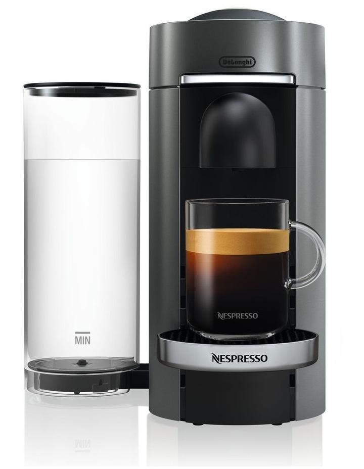 by Delonghi VertuoPlus Deluxe Capsule Coffee Machine Titanium ENV155T image 5