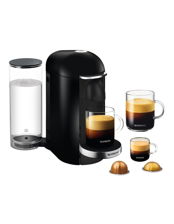 by Breville VertuoPlus Deluxe Capsule Coffee Machine Black BNV420BLK image 1