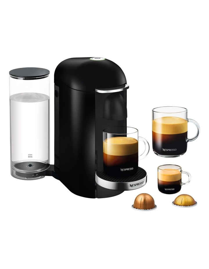 by Breville VertuoPlus Deluxe Capsule Coffee Machine: Black BNV420BLK image 2