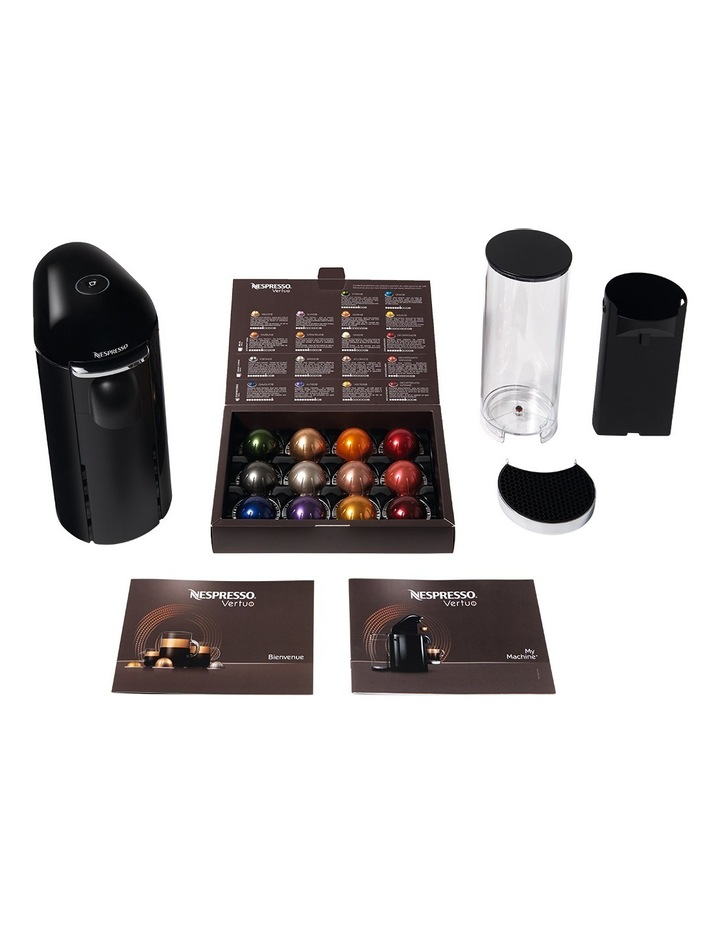 by Breville VertuoPlus Deluxe Capsule Coffee Machine: Black BNV420BLK image 4