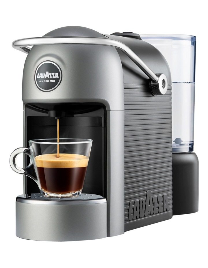 A Modo Mio Jolie Plus capsule coffee machine with MilkUp induction frother: Gunmetal image 2