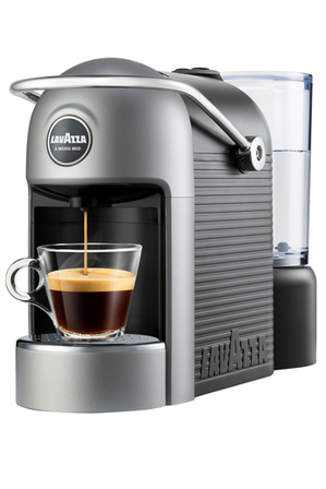 Lavazza - A Modo Mio Jolie Plus capsule coffee machine with MilkUp induction frother: Gunmetal