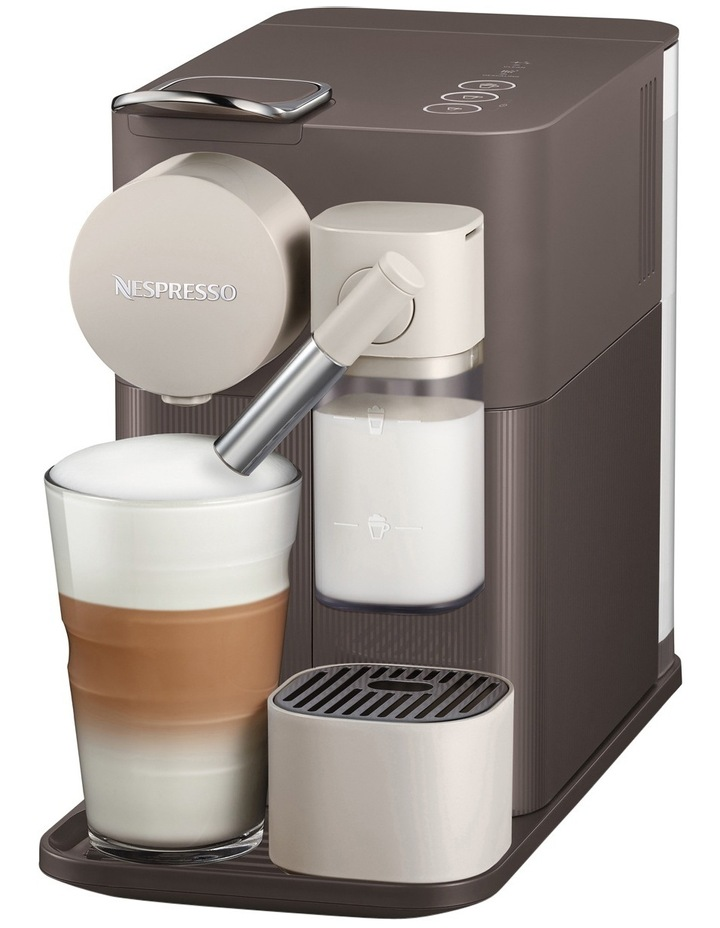 by Delonghi Lattissima One Capsule Coffee Machine: Brown EN500BW image 2