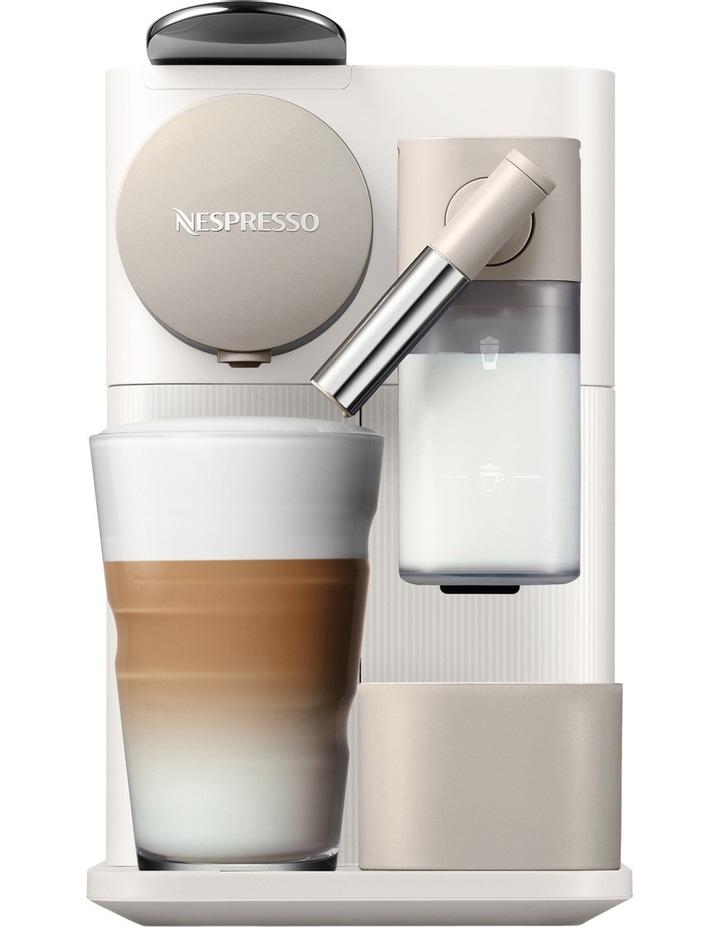 by Delonghi Lattissima One Capsule Coffee Machine: White EN500W image 1