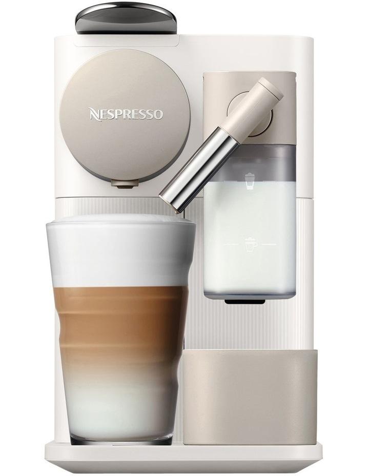 by Delonghi Lattissima One Capsule Coffee Machine White EN500W image 1