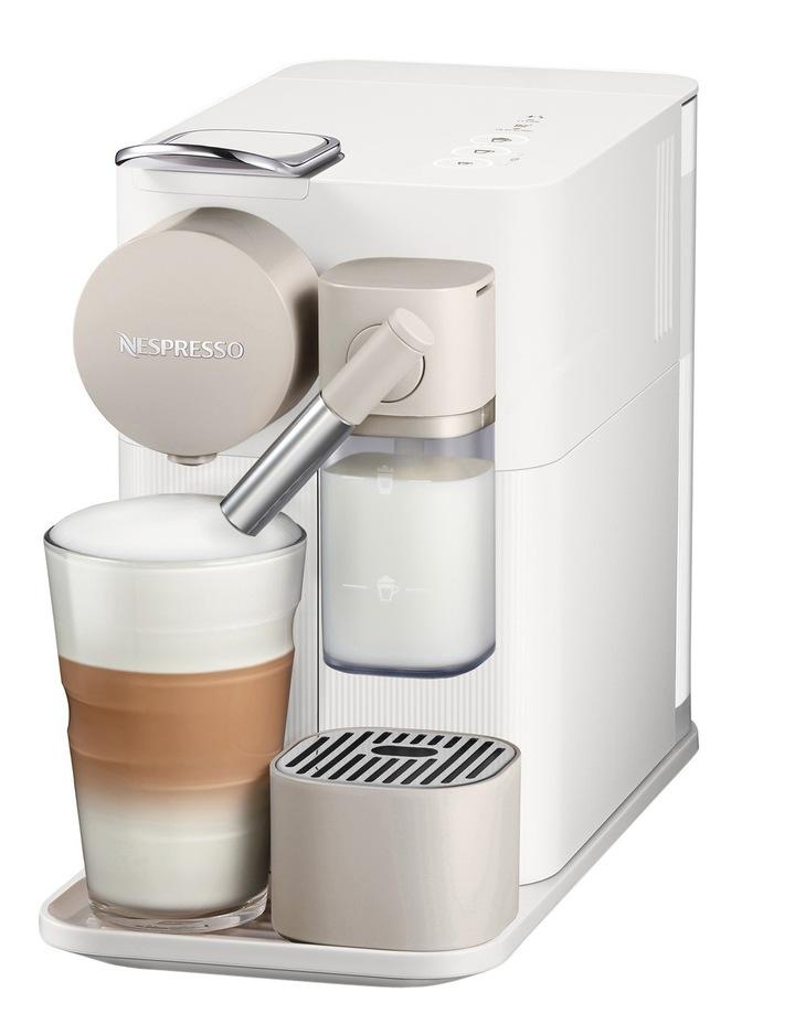 by Delonghi Lattissima One Capsule Coffee Machine: White EN500W image 2