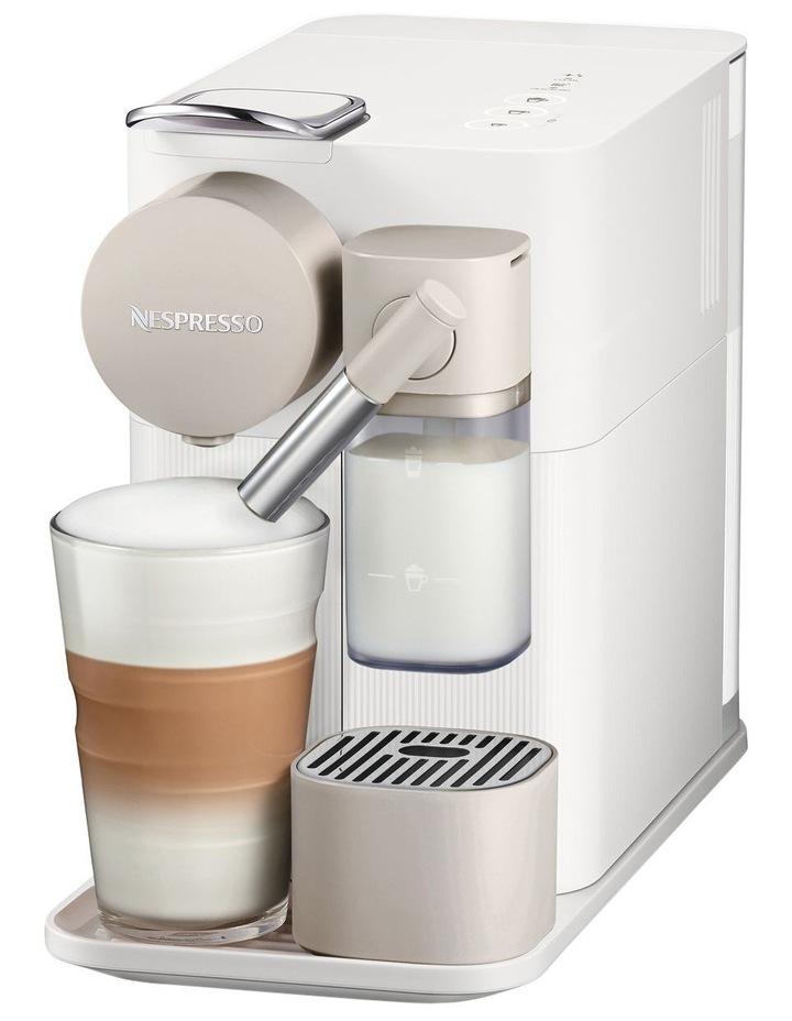 by Delonghi Lattissima One Capsule Coffee Machine White EN500W image 2