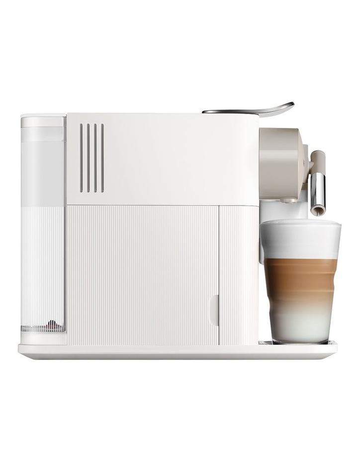 by Delonghi Lattissima One Capsule Coffee Machine White EN500W image 3