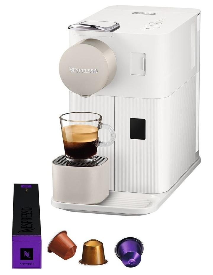by Delonghi Lattissima One Capsule Coffee Machine White EN500W image 4