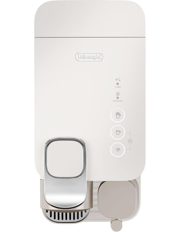 by Delonghi Lattissima One Capsule Coffee Machine: White EN500W image 5