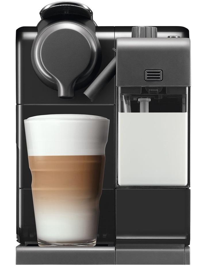 by Delonghi Lattissima Touch Capsule Coffee Machine Black/Silver EN560B image 1