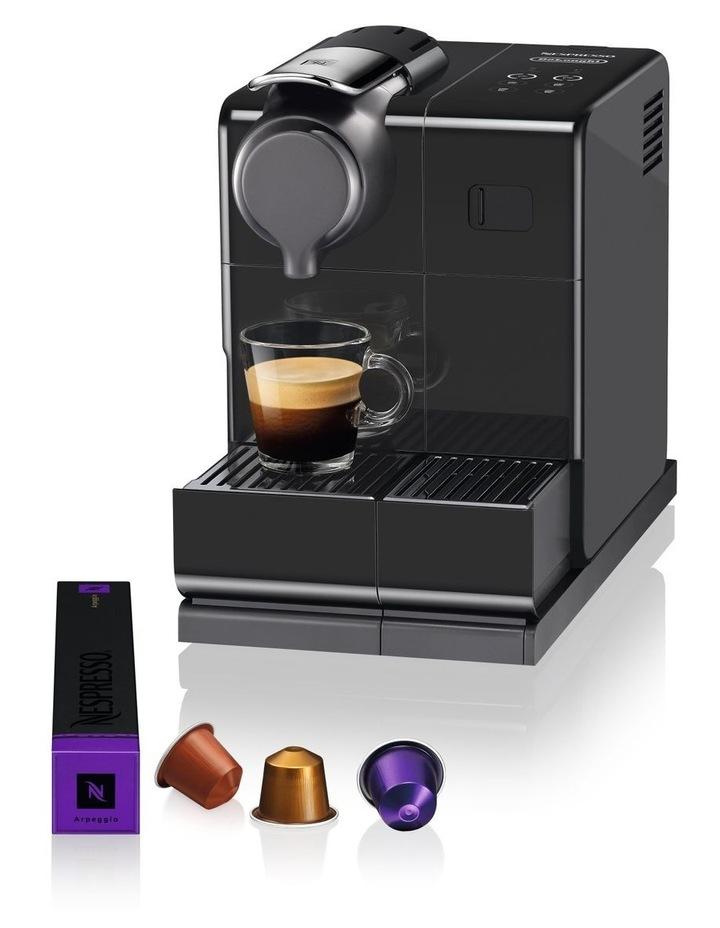 by Delonghi Lattissima Touch Capsule Coffee Machine Black/Silver EN560B image 3