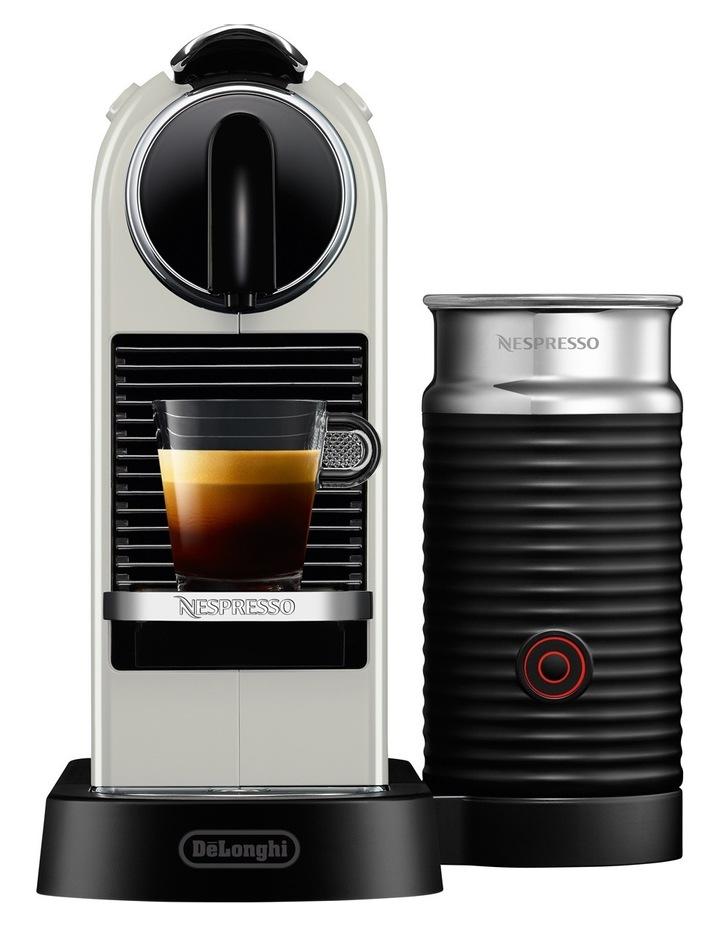 Citiz & Milk Capsule Coffee Machine: White: EN267WAE image 1