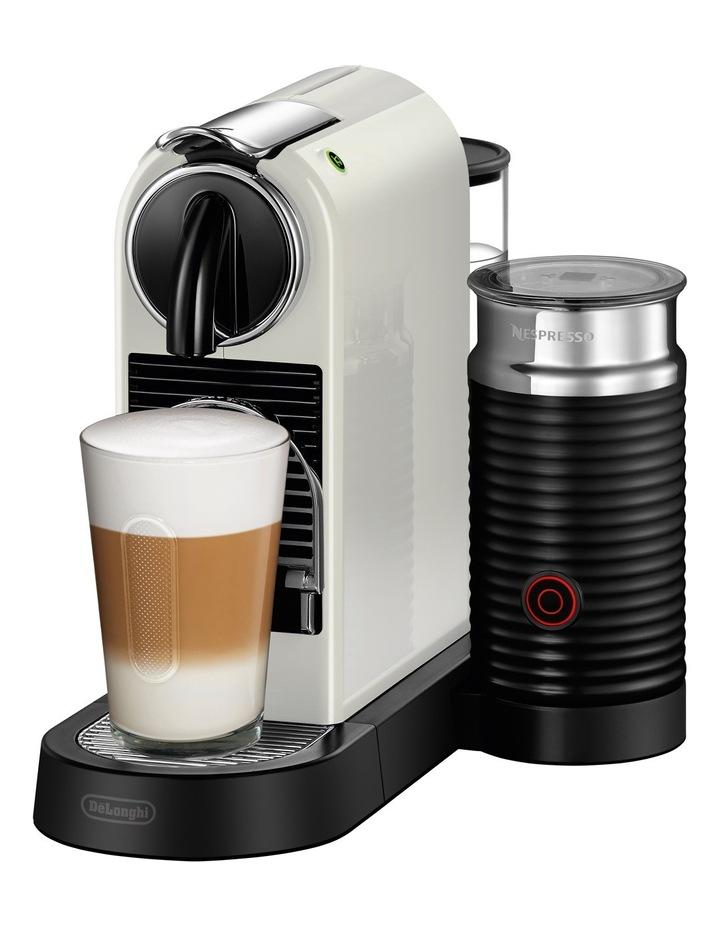 Citiz & Milk Capsule Coffee Machine: White: EN267WAE image 2