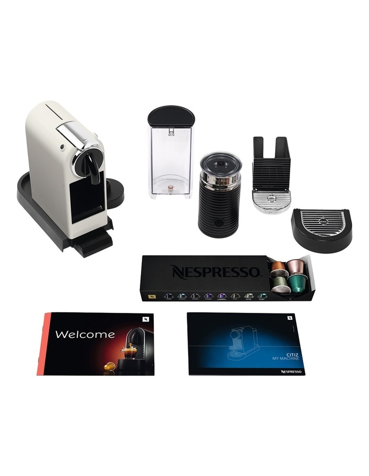 Citiz & Milk Capsule Coffee Machine: White: EN267WAE image 8