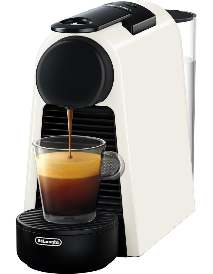 By Delonghi Essenza Mini Capsule Coffee Machine - White EN85WSOLO image 3