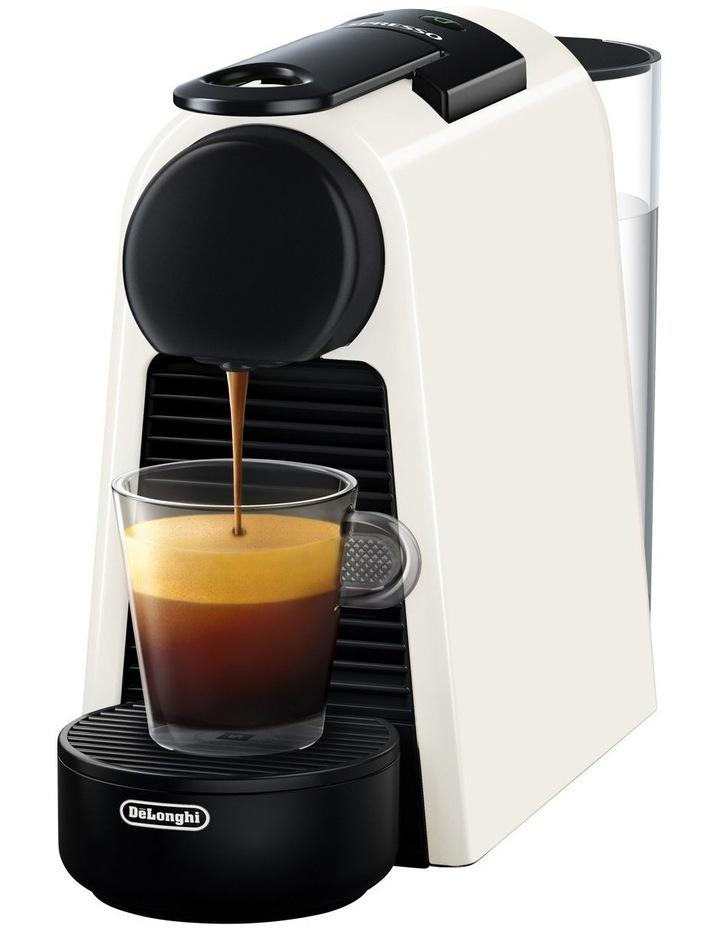 by Delonghi Essenza Mini Capsule Coffee Machine White EN85WSOLO image 3