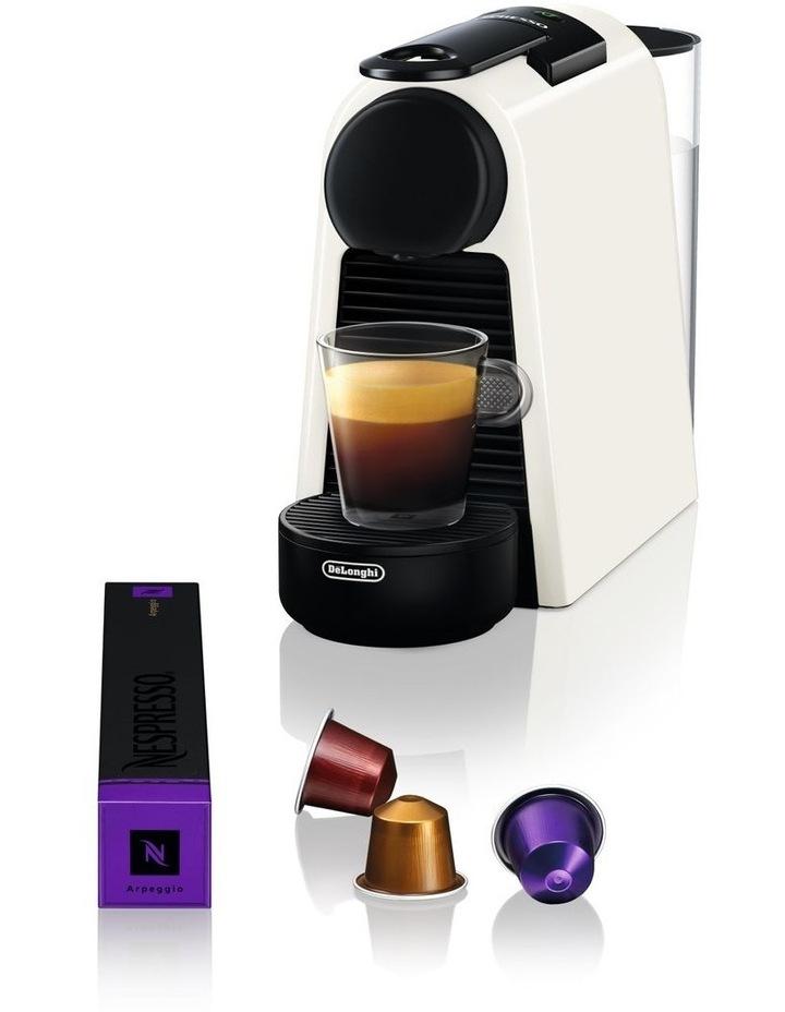 by Delonghi Essenza Mini Capsule Coffee Machine White EN85WSOLO image 6