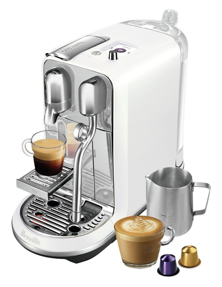 by Breville Creatista Plus Capsule Coffee Machine Sea Salt BNE800SST image 2