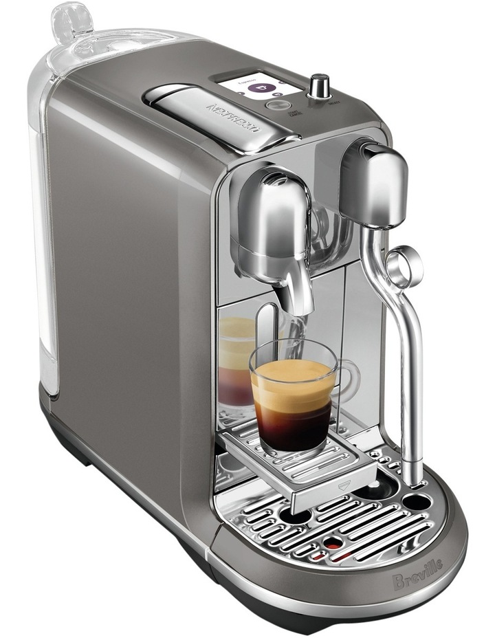 Creatista Plus Capsule Coffee Machine: Smoked Hickory BNE800SHY image 3