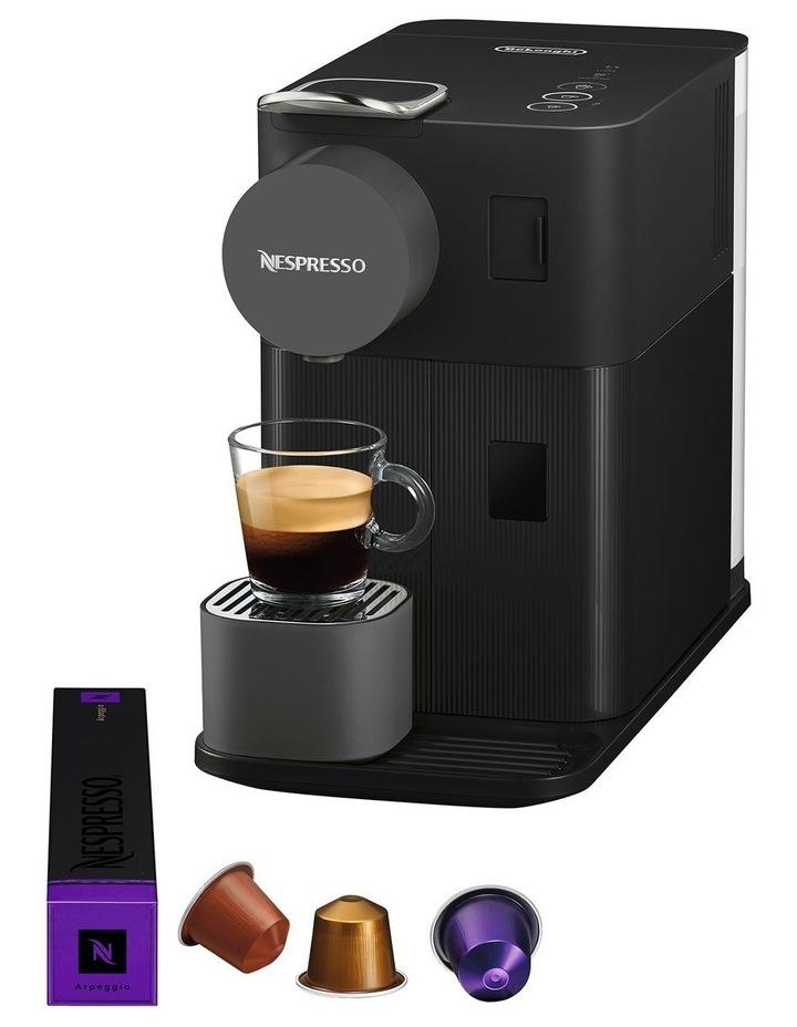Delonghi Lattissima One Capsule Coffee Machine: EN500B Matt Black image 3