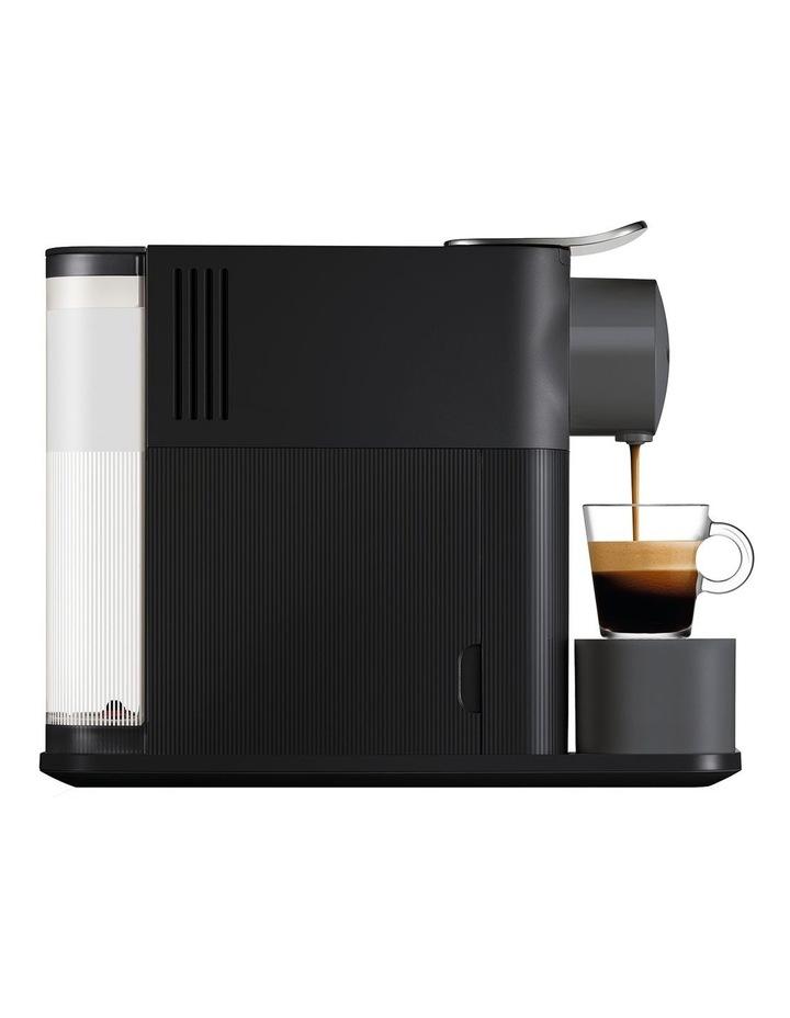 Delonghi Lattissima One Capsule Coffee Machine: EN500B Matt Black image 4