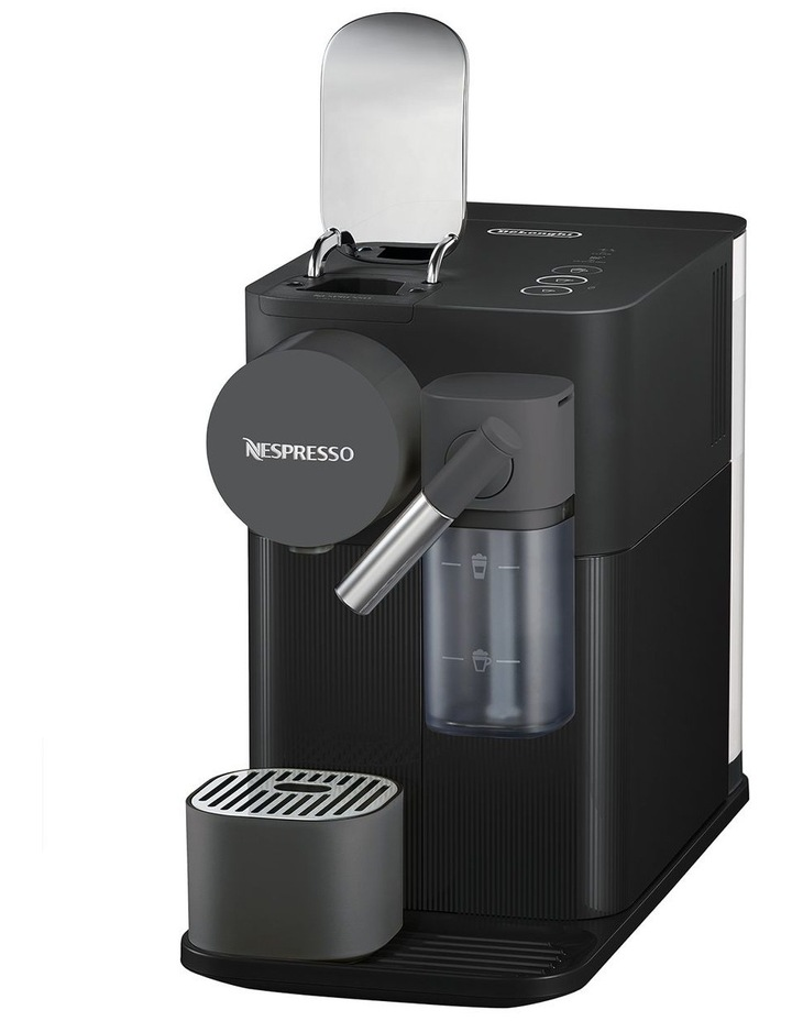 Delonghi Lattissima One Capsule Coffee Machine: EN500B Matt Black image 7