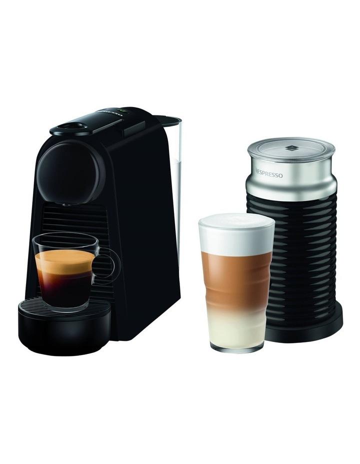 by De'longhi Essenza Mini & Milk Capsule Coffee Machine in Matt Black EN85BMAE image 1