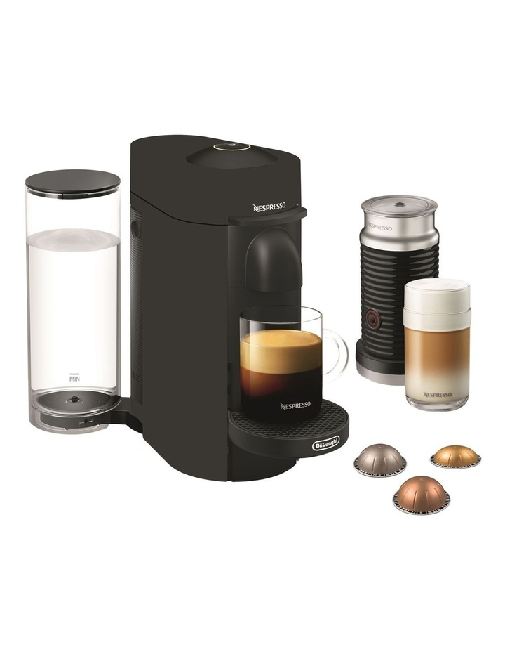 by Delonghi VertuoPlus Deluxe Capsule Coffee Machine Matte Black ENV150BMAE image 1