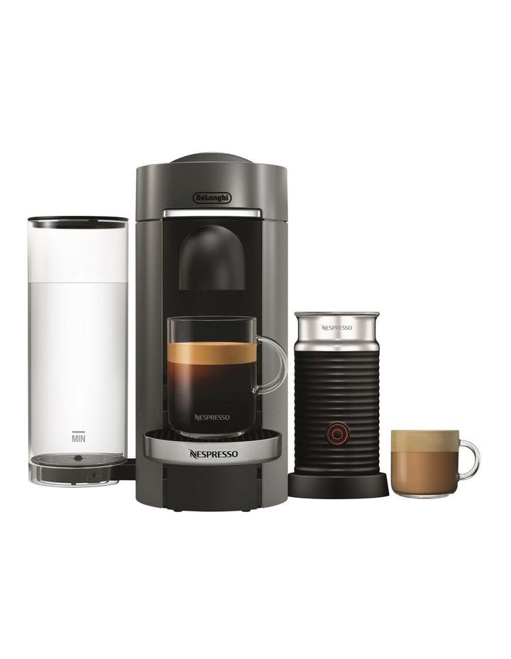 by Delonghi VertuoPlus & Milk Capsule Coffee Machine Titan ENV155TAE image 1