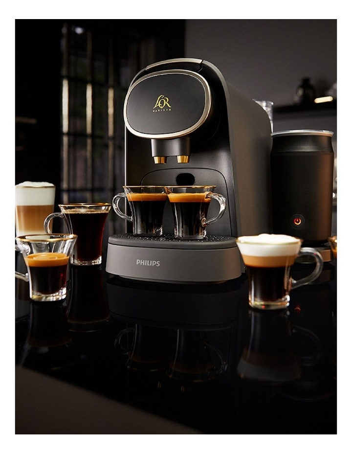 L'Or Barista Capsule Machine Latte Premium Black LM8018/90 image 5