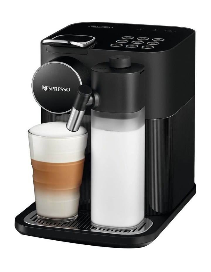 by Delonghi Gran Lattissima Capsule Coffee Machine Black EN650B image 1
