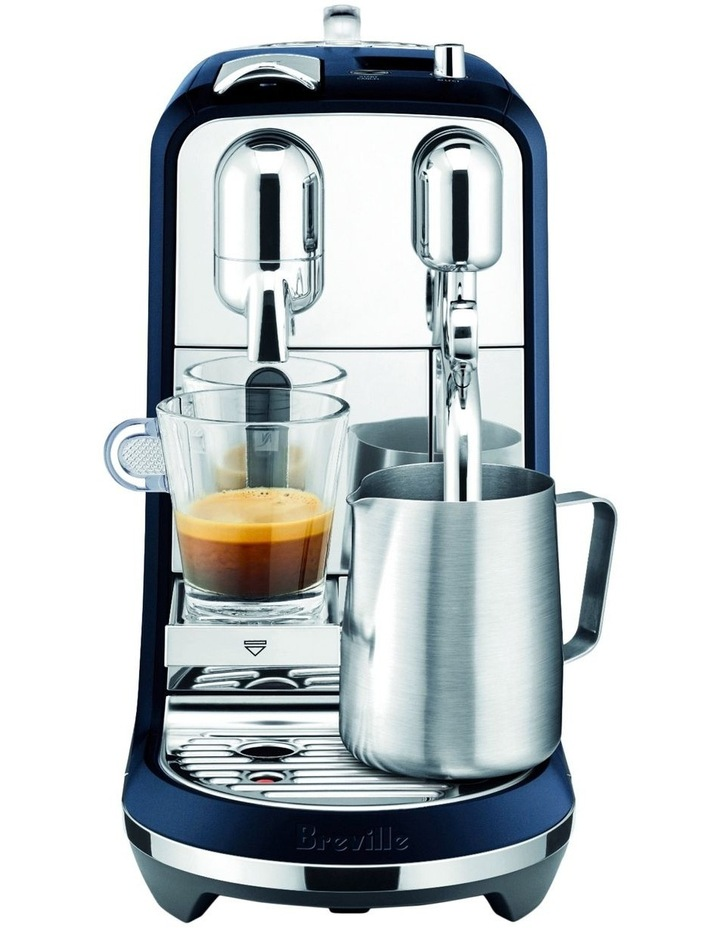 by Breville Creatista Capsule Coffee Machine Damson Blue BNE800DBL image 1