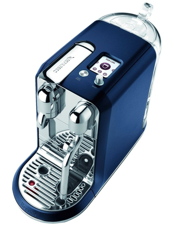 by Breville Creatista Capsule Coffee Machine Damson Blue BNE800DBL image 2