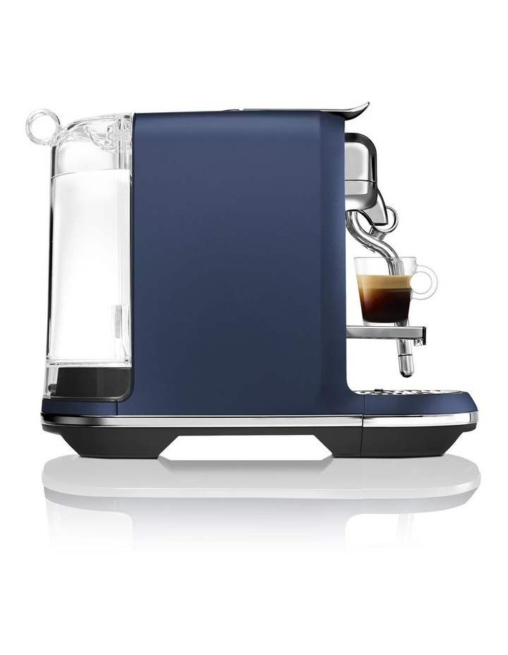 by Breville Creatista Capsule Coffee Machine Damson Blue BNE800DBL image 4