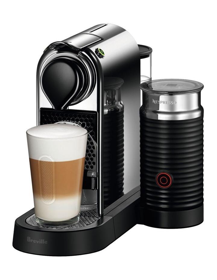 by Breville Citiz & Milk Capsule Coffee Machine Chrome BEC660CRO image 1