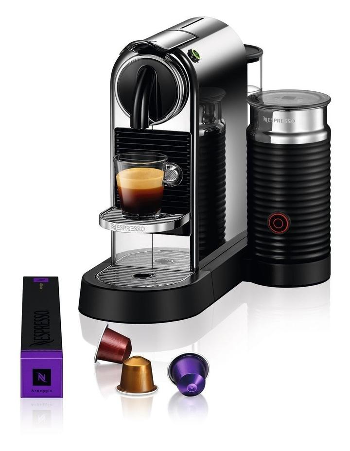 by Breville Citiz & Milk Capsule Coffee Machine Chrome BEC660CRO image 3
