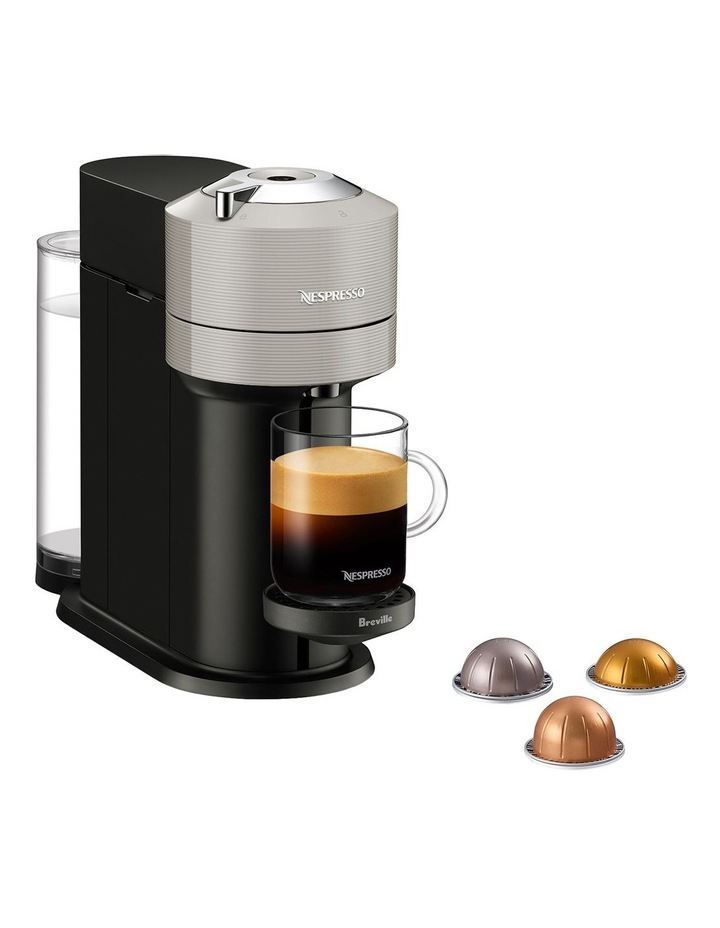 by Breville Vertuo Next & Milk Capsule Coffee Machine Light Grey BNV550GRY image 1