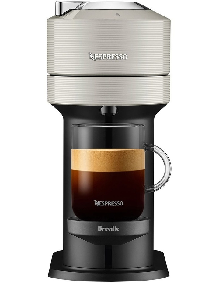 by Breville Vertuo Next & Milk Capsule Coffee Machine Light Grey BNV550GRY image 3
