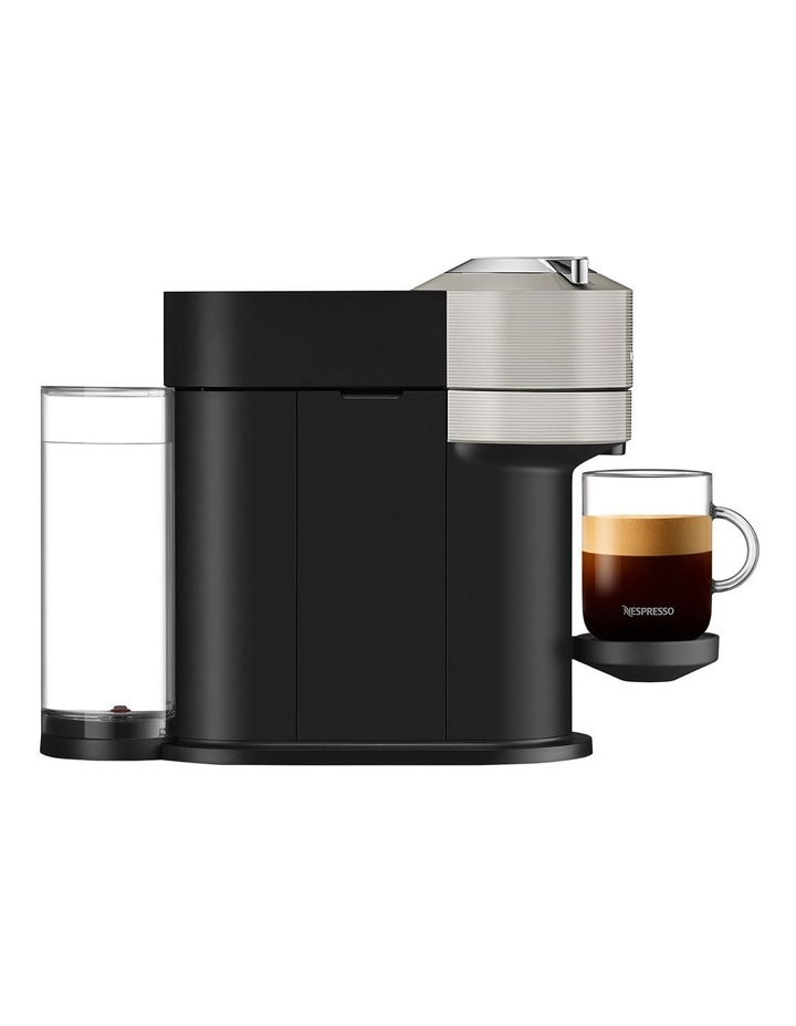 by Breville Vertuo Next & Milk Capsule Coffee Machine Light Grey BNV550GRY image 4