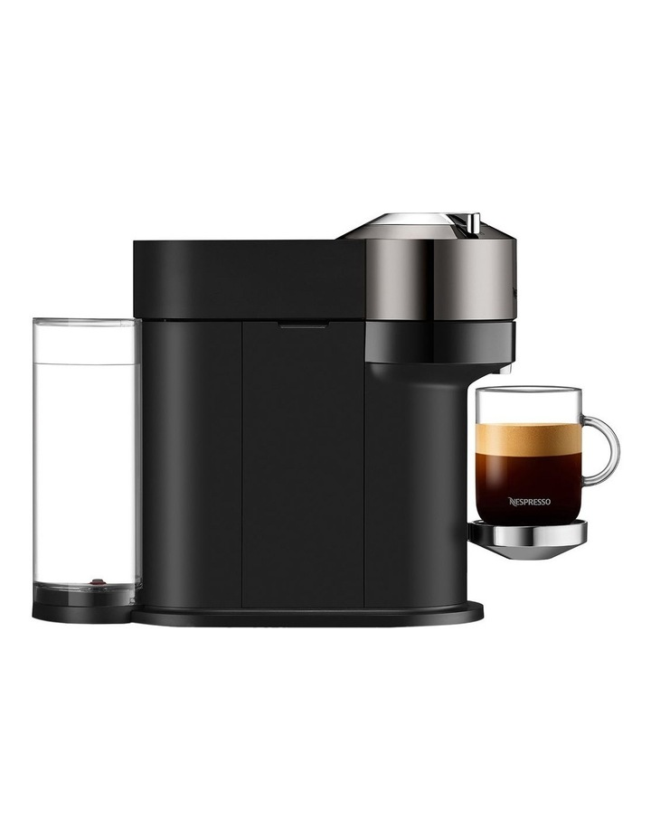 by Breville Vertuo Next Deluxe Capsule Coffee Machine with Aeroccino Dark Chrome BNV570DCR image 4