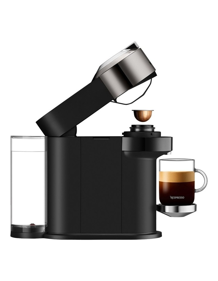 by Breville Vertuo Next Deluxe Capsule Coffee Machine with Aeroccino Dark Chrome BNV570DCR image 5