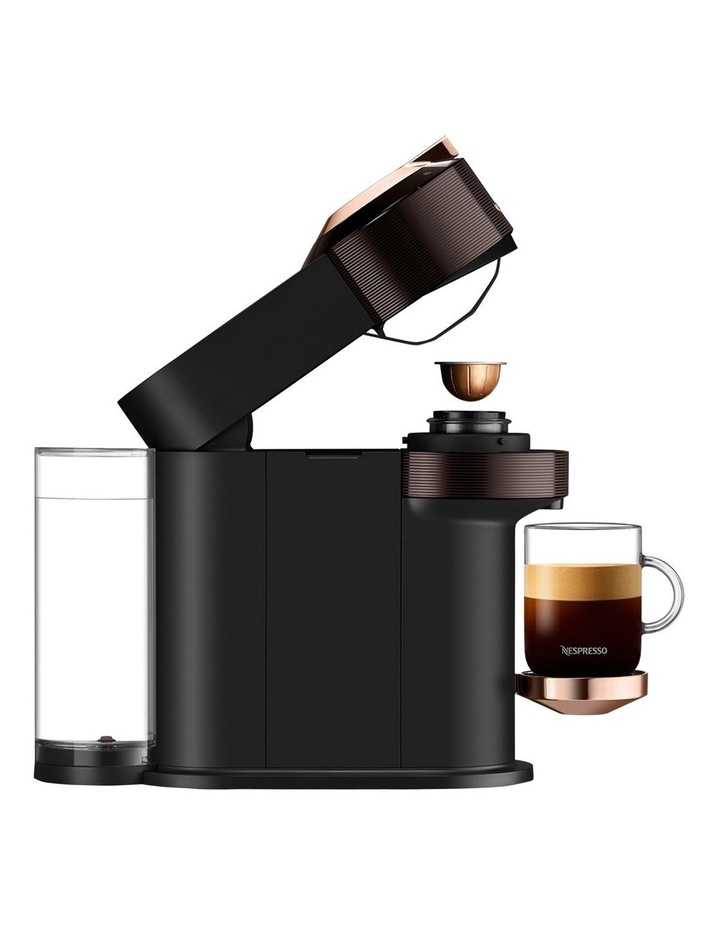 by De'Longhi Vertuo Next Capsule Coffee Machine with Milk Frother in Brown/Rose Gold ENV120BWAE image 3