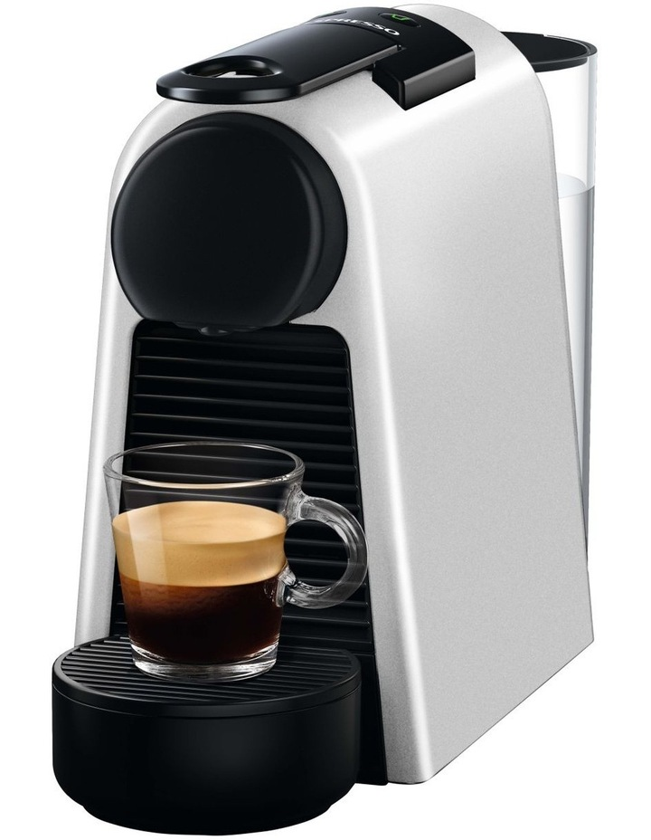 by Delonghi Essenza Mini & Milk Capsule Coffee Machine Silver EN85SAE image 1