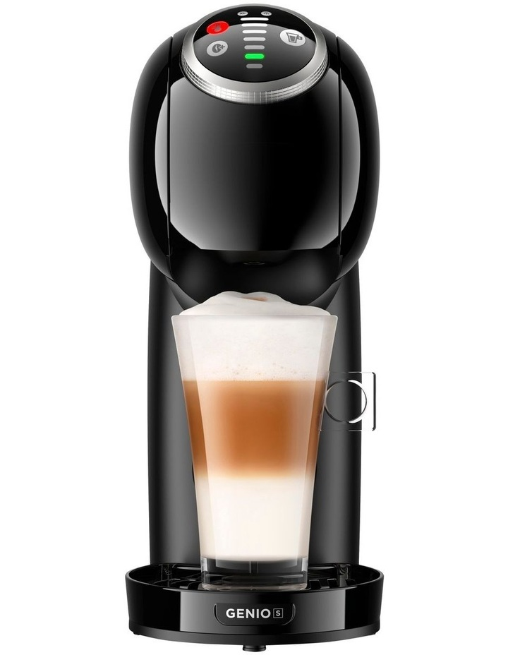 Starbucks Bundle Genio S Plus Capsule Coffee Machine with Frother Black NSB780BLK image 1