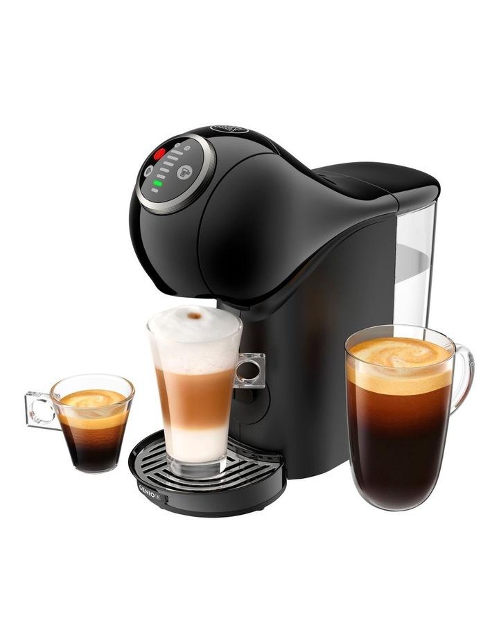 Starbucks Bundle Genio S Plus Capsule Coffee Machine with Frother Black NSB780BLK image 2