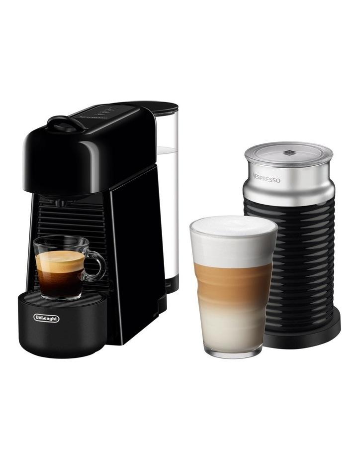 by Del'Longhi Essenza Plus & Milk Capsule Coffee Machine Black EN200BAE image 1