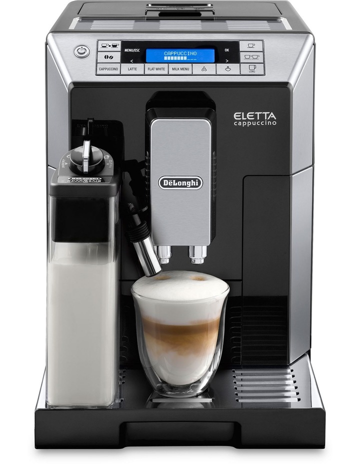ECAM45760B Eletta Fully Automatic Coffee Machine: Black image 1