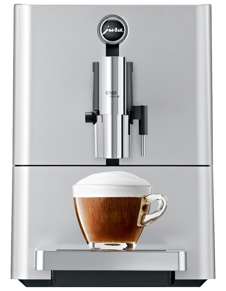 15115 Ena Micro 90 Automatic Coffee Machine: Micro Silver image 1