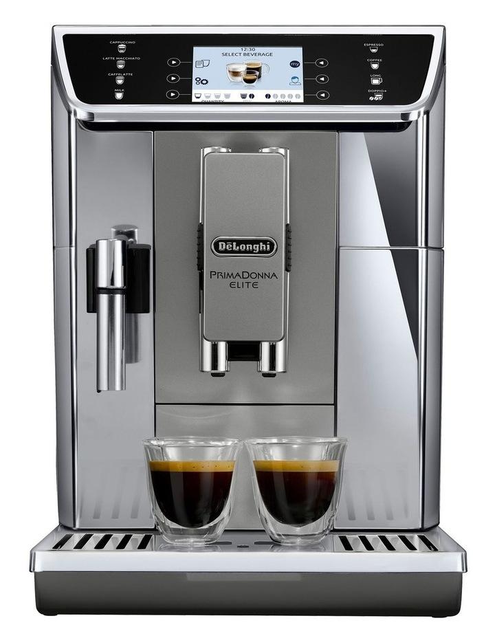 Primadonna Elite Automatic Coffee Machine Silver ECAM65055MS image 1